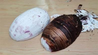終於學會怎麼保存芋頭了,再也不怕買多壞掉,這樣存放一年不會壞