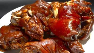 老師傅不肯外傳的五香醬豬蹄配方,毫無保留分享,學會可以開店了
