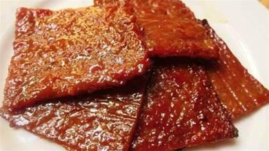 自製豬肉乾,幹淨衛生,經濟又美味還很簡單做,不用嗮太陽,直接烤就是了