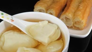 不用石膏,不用鹵水,在家也能做出美味的豆腐腦,既營養又衛生
