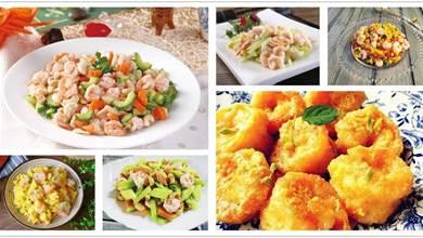 學會這10款蝦仁做法,家人吃到舔盤,簡單易做,比大廚做得還香