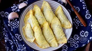 蛋餃做法很簡單,掌握這三個要點,蛋餃各個完整漂亮,吃不夠