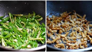 青椒肉絲到底先炒肉還是青椒?教你正確做法,肉絲嫩滑,辣椒清香