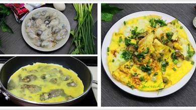 3個雞蛋12只蚵仔,簡單幾步,輕鬆做出蚵仔煎,鮮嫩美味