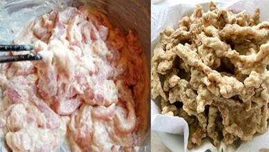 炸酥肉,到底是用麵粉還是澱粉?教你正確做法,酥嫩爽口肥而不膩