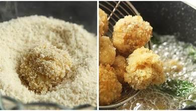 教你做正宗小吃鹽酥雞,一口一個,酥酥脆脆,太好吃了