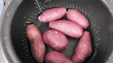 才知道烤紅薯這麼簡單,不用烤箱,不需要一滴水,一個電鍋就行