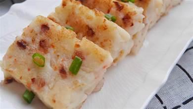 廣式蘿蔔糕:外脆裡嫩,好吃的關鍵是選好蘿蔔,只放粘米粉就錯了