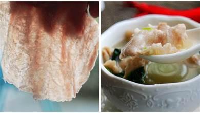 擀麵杖敲一敲!瘦肉湯這樣做,滑滑嫩嫩,客家人最愛吃