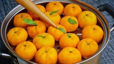 把橘子放鍋裡蒸一蒸,原來好處這麼多,看完長見識了,真受用