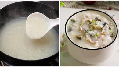做皮蛋瘦肉粥,煮粥前多做兩步,鹹香好吃,沒有蛋腥味