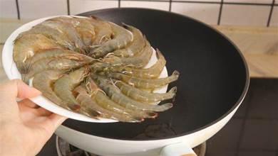 煮大蝦時,鍋里加水就錯了!大廚教你1招,鮮肉鮮美入味還不腥
