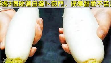 買蘿蔔,別貪個頭大,教您3個小訣竅,選對了脆嫩爽口汁水多