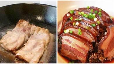 做扣肉,焯水就炸都是「外行」!教你正確做法,酥軟入味鹹香四溢
