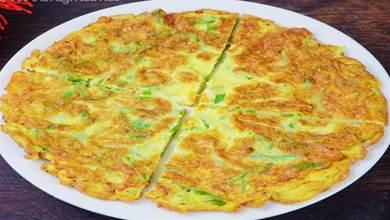 炒雞蛋,別再用老式炒法,這樣炒,好吃更好看,端上桌都說是硬菜