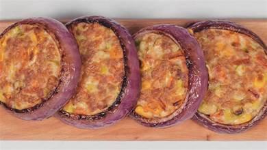 洋蔥肉末餅的美味新吃法,營養又鮮香,大人小孩都愛吃,真解饞