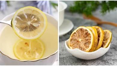 「幹檸檬片」和「新鮮檸檬」有啥區別?泡水喝哪個更好?