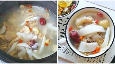 椰子雞家常做法,湯汁清甜,雞肉脆嫩,吃一次就上癮,學會自己做