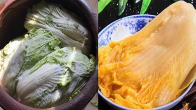 醃大白菜時,學會這3點竅門,酸菜酸脆香,不爛也不會發霉,好吃