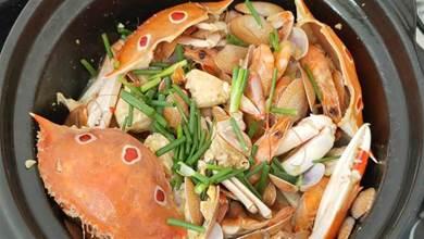 蛤蜊怎樣做才香?加3只蟹1碗蝦做一鍋,鮮味十足又好吃