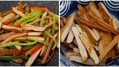 炒豆干,直接炒不容易入味,教你正確做法,豆干柔軟好吃有滋味