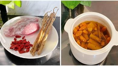 燉肉湯,記得多加「1紅1黃」2種食材,這樣搭配,營養翻倍