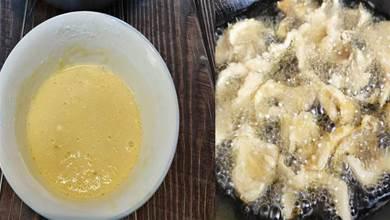 乾炸蘑菇,裹麵粉還是澱粉?教你正確掛糊比例,酥脆入味不回軟
