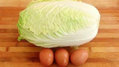 白菜最近火了,加3個雞蛋,教你新做法,咬一口太香了,超解饞