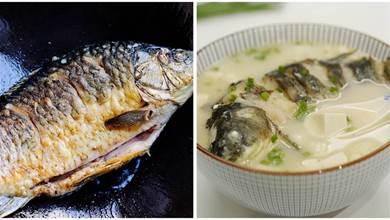 無論用什麼魚燉湯,不要直接燉,掌握4竅門,香濃奶白,鮮美不腥