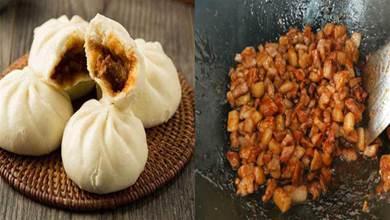 廣東叉燒包,調餡很關鍵,牢記3點技巧,包子飽滿汁多油潤而不膩
