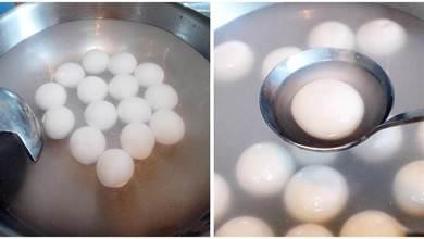 煮湯圓時,水開下鍋就不對了!牢記一點,湯圓不破皮不漏餡不夾生