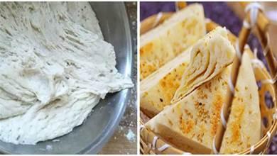怎樣在晚上發麵第二天用?教你冷藏法,做法簡單,做成烙餅特別香