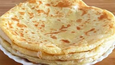 一碗麵一碗水,教你簡單做家常餅,柔軟筋道,好吃解饞,零失敗