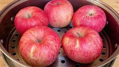 蘋果放鍋裡蒸一蒸,原來好處這麼多,我也才知道,以後就這樣吃了