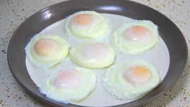 水煮荷包蛋我只服這2種方法,0失誤不散花,又圓又嫩,一學就會