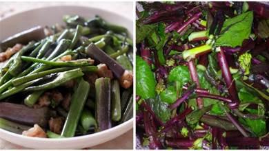 清炒紅菜苔時,別直接就下鍋,用上1招技巧,菜苔吃著香還不發苦