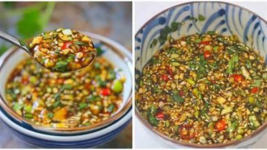 教你做萬能蘸料,涼拌菜涮火鍋都可以,怎麼吃都香