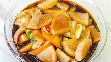 醬蘿蔔新做法不用放鹽,加1種水果醃3小時,清脆爽口又開胃