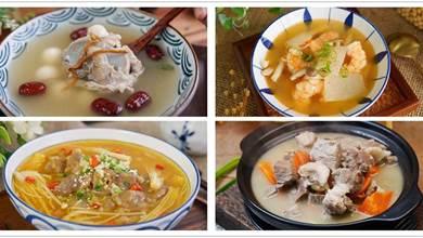 天氣轉冷,多喝湯暖身再好不過,分享6道湯,暖身有營養