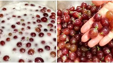 洗葡萄時,用鹽還是用麵粉?果農:都不對,如此洗吃著才放心