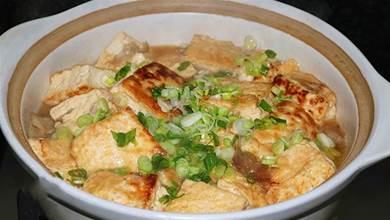 客家人豆腐到愛這樣吃,幾十年都吃不膩做法,湯汁入味,好吃下飯