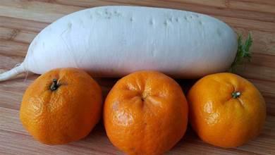 橘子和蘿蔔放在一起,沒想到這麼厲害,好多人不知有啥用,看就懂