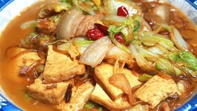 白菜燉豆腐最忌直接下鍋,老保姆教我正確做法,上桌連湯汁都不剩