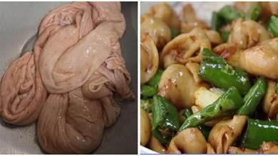 爆炒肥腸家常做法,簡單易做又沒腥味,脆爽入味香味十足,真好吃