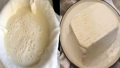 教你在家自製豆腐,不用石膏和鹵水,一把黃豆就能,健康又衛生