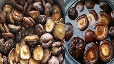 冬天泡香菇,最忌用冷熱水泡,教你一招,15分鐘香菇泡得又肥又大
