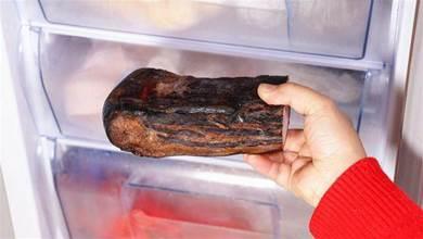 在冰箱放了一年的臘肉還能吃嗎?今天可算明白了,儘快提醒家人