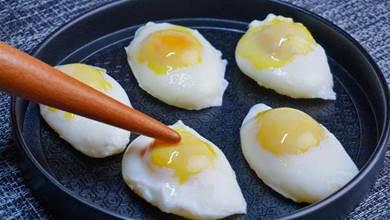 荷包蛋不要直接下鍋煮,老保姆教我一招,一鍋一個都不散,零失誤