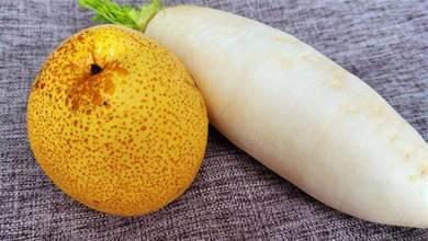 白蘿蔔和梨一起煮,居然作用這麼厲害,好多人不懂啥用,長知識了