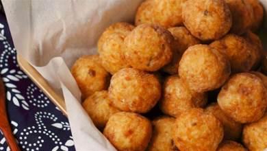 炸肉丸子,用麵粉還是澱粉?都沒用對,換成它,酥軟可口,不油膩